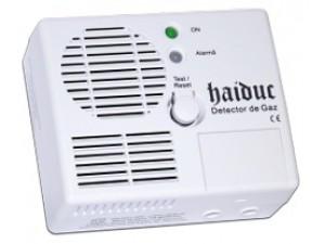 Detector de gaz metan Haiduc Premium cu eletrovalva de 3/4, 5 ani durata de viata, echipament complet