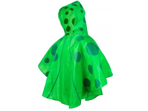 Pelerina impermeabila pentru copii KIDS GARDEN - culoare verde (3-6 ani)