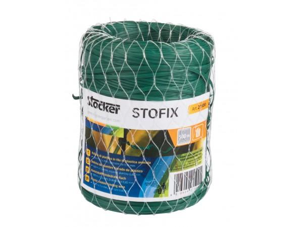 Fir plastificat Stofix, bobina 250 m x 2,6 mm