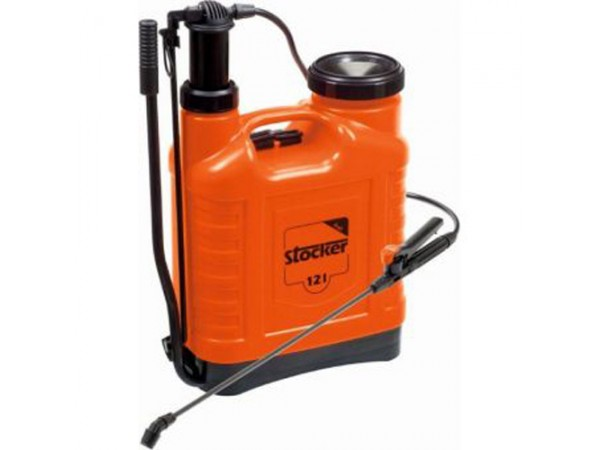 Pompa Stocker manuala cu presiune tip rucsac (12 litri)