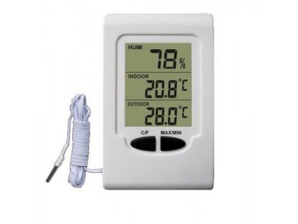 Termohigrometru digital cu sonda mobila Koch