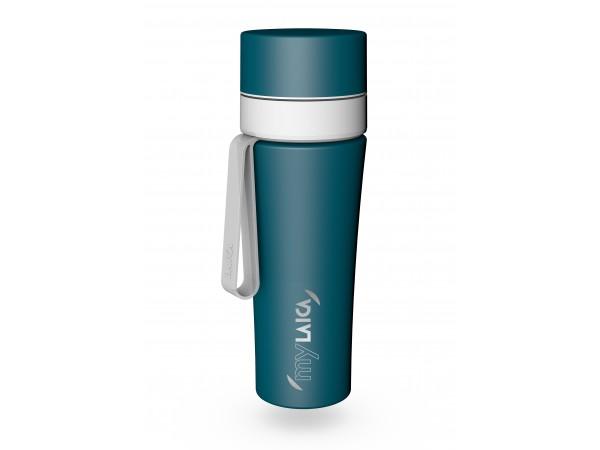 Sticlă filtranta Sport myLaica, Inox, 0,55 litri, portabila