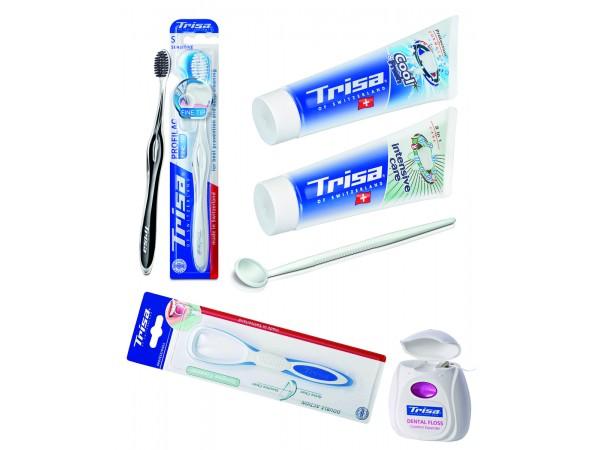 Pachet ingrijire orala Trisa Oral Care Sensitive