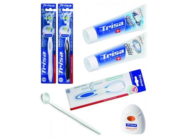 Pachet ingrijire orala Trisa Oral Care White