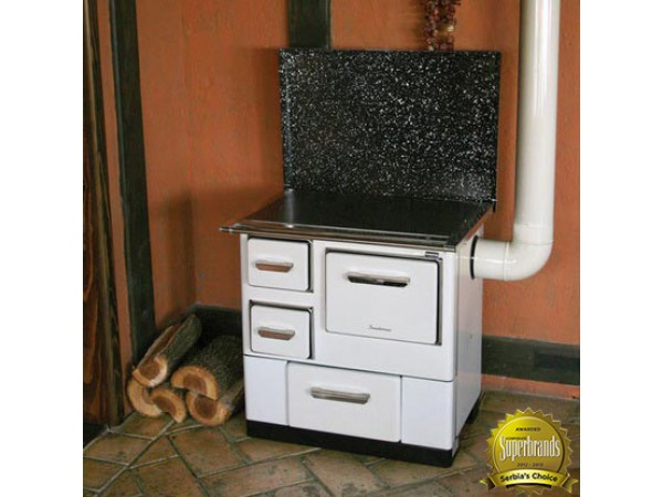 Soba de gatit si incalzit MBS3, putere 6.5 kW, evacuare lateral