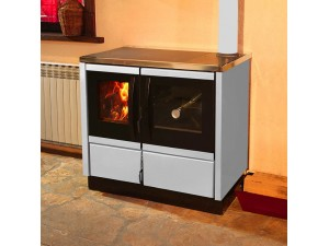 Soba tip centrala MBS Thermo Rocky, putere 22 kW, volum boiler 22 litri