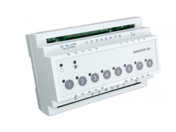 Controler de incalzire prin pardoseala Auraton 8D, 5 ani Garantie, instalare in cutie electrica