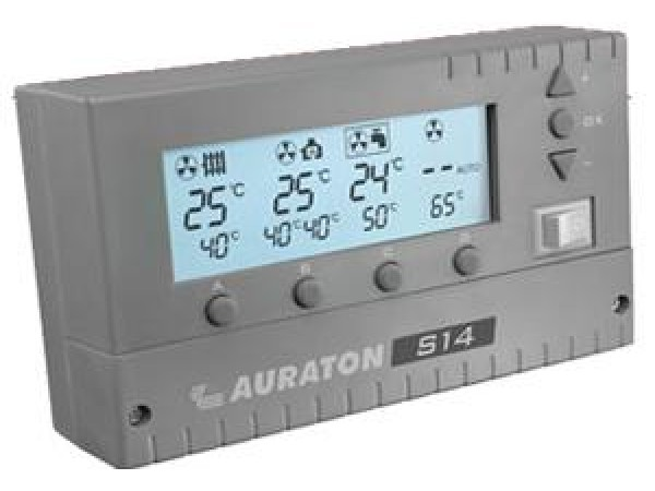 Termostat comanda pompa Auraton S14, 5 ani Garantie, senzor inclus