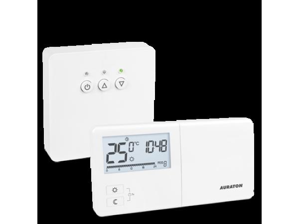 Termostat fara fir Auraton R25RT, 5 ani Garantie, 8 programe