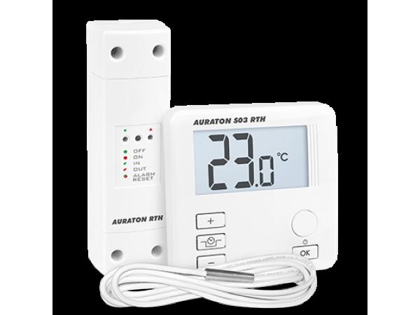 Termostat wireless comanda pompa Auraton S03, 5 ani garantie, fara fir