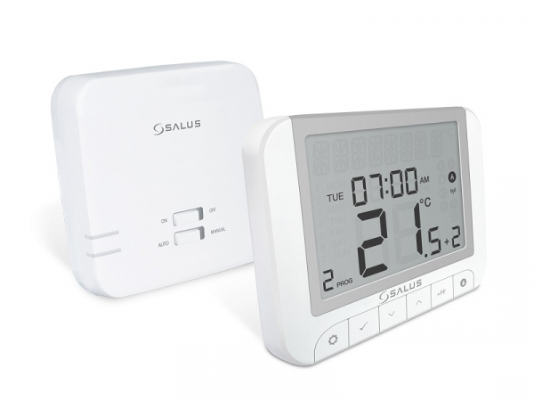 Termostat fara fir Salus RT520RF, functie Opentherm, auto invatare