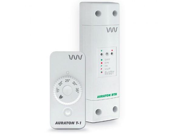 Termostat fara fir Auraton T-1 RT, 5 ani Garantie, baterie de litiu